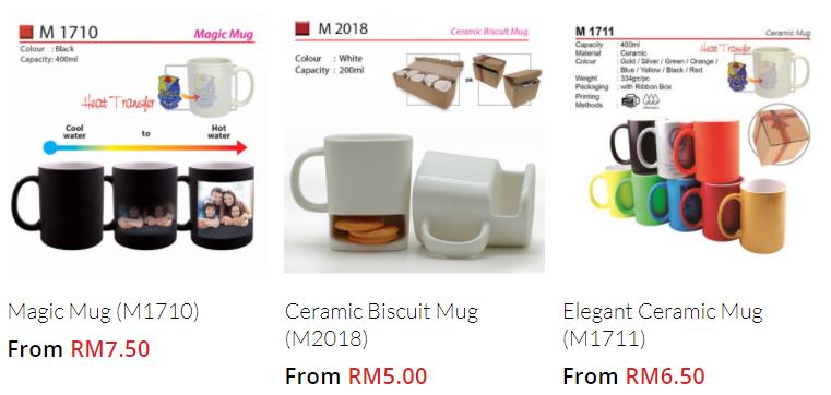 Malaysia Mug Supplier